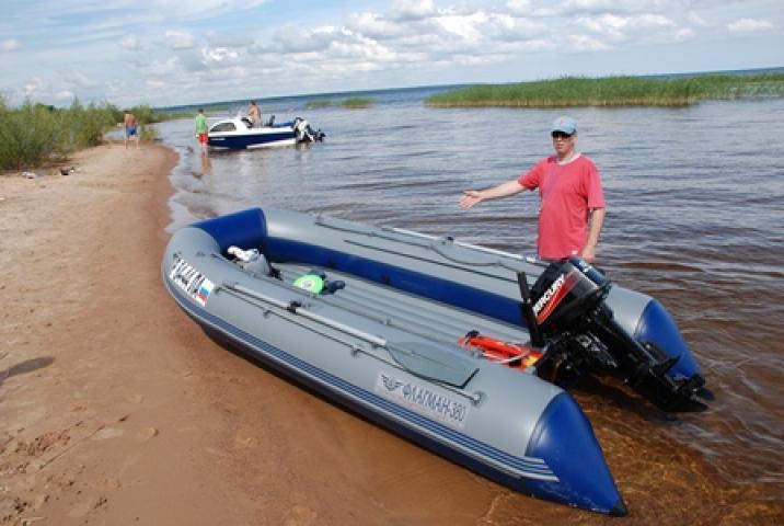 лодка надувная 380 под мотор